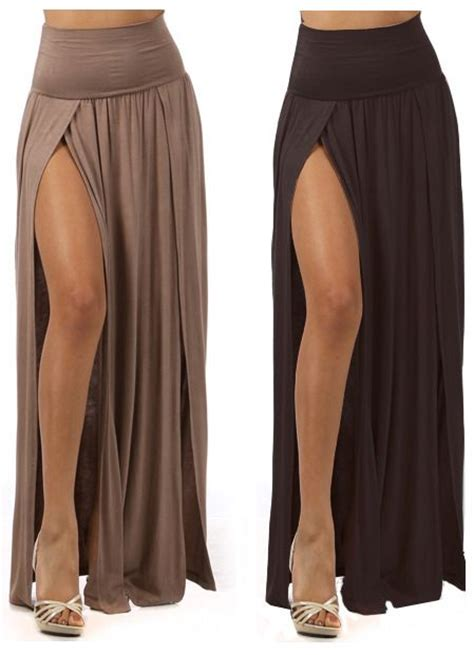 Set Maxi Arabic Marun best 25 maxi skirt with slit ideas on