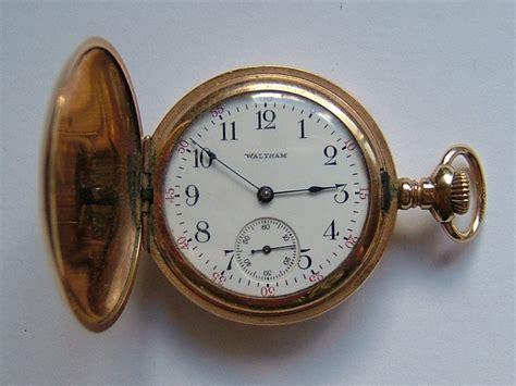 antiques atlas gold filled waltham fob pocket