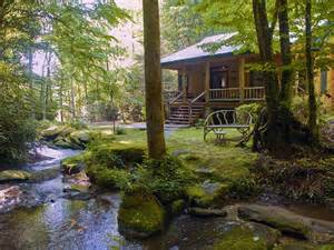 5 Bedroom Cabins In Pigeon Forge image gallery mountain cabin stream