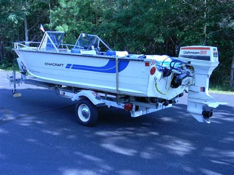 used fish and ski boats in wisconsin 16 ft starcraft aluminum boat for sale