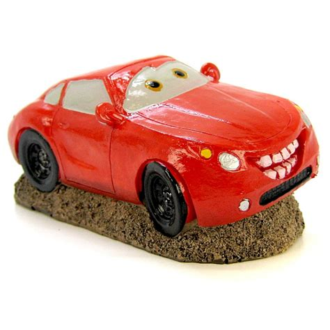 blue ribbon pet products smiley sports car ornament