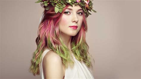 two toned hair color how to get a two toned hair color l or 233 al