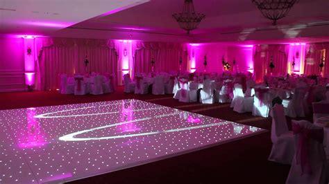 the forum white light wedding venue starlight dance floors starlit white dance floor