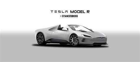 Tesla Type R Tesla Model R Roadster 2017 Render Teslamotors