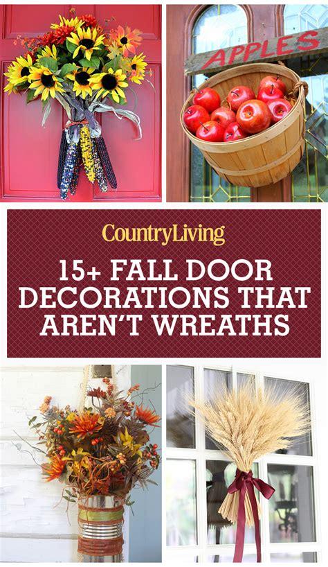 decorating your front door for fall door 18 fall door decorations ideas for