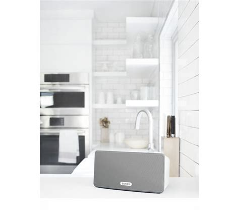 sonos multi room system buy sonos play 3 wireless smart sound multi room speaker white free delivery currys