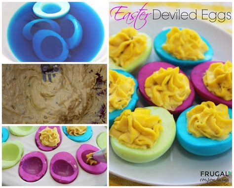 how to color deviled eggs easter neon deviled eggs easy colored egg tutorial