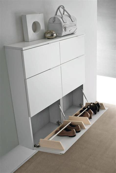 Meuble A Chaussure Laque Blanc