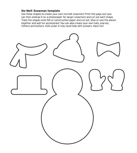 snowman templates search results for cut out snowman templates calendar 2015
