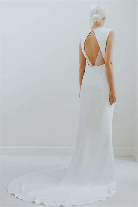 Minimal Dress minimal wedding dress style less is more style designs