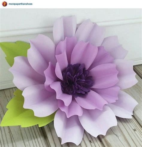Easy Handmade Paper Flowers - diy paper flower crafts and projects pink lover