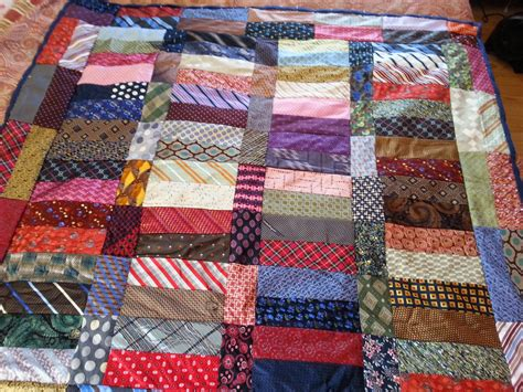 Quilts Made From Neckties by Quilts By Kate Necktie Renee S Necktie Quilts