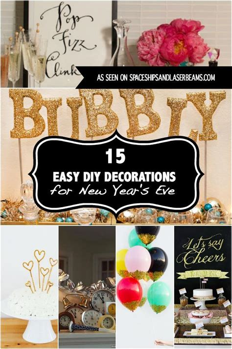 diy decorations for new year 15 easy diy decorations for new year s in 2017