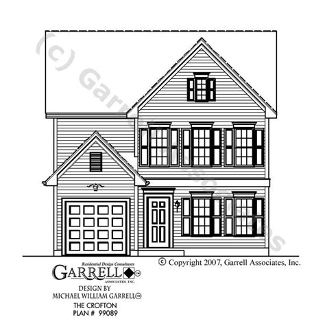 front house plans crofton house plan house plans by garrell associates inc