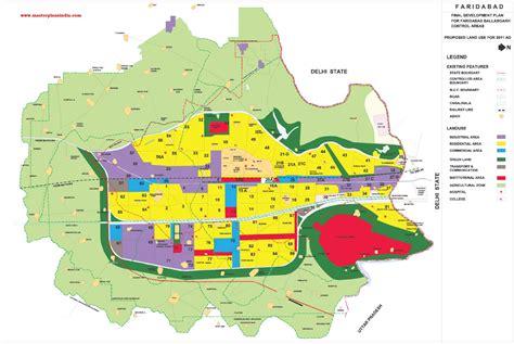 hmda layout download faridabad master plan 2031 map pdf download master plans