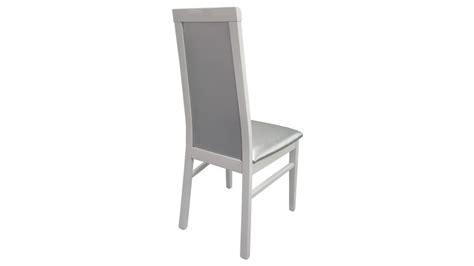 chaise simili cuir gris chaise baroque en similicuir matelass 233 gris trenton