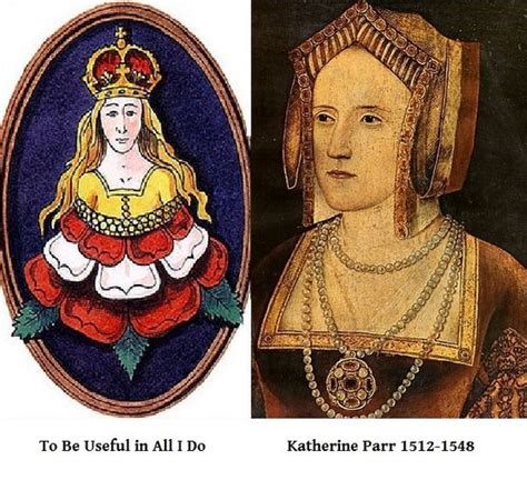 Oh Those Tudor Boys by Katherine Parr Badge And Motto Oh Those Tudors