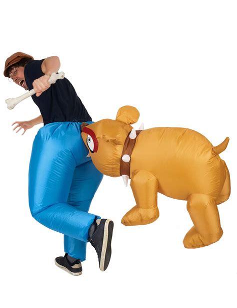 inflatable bulldog costume  adults adults costumesand