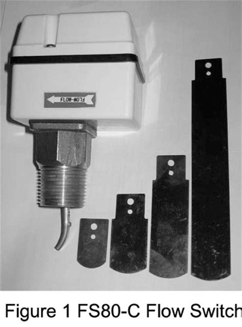 Flow Switch Johnson industrial plastic flow switches wogs valve m