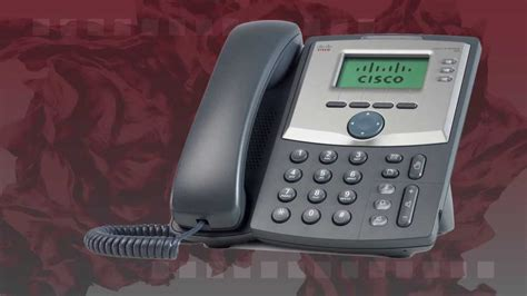 cisco spa 303 desk phone cisco spa 303 ip phone youtube