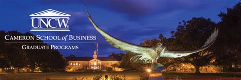 Uncw Mba by Business Graduate Programs Cameron School Of Business Uncw