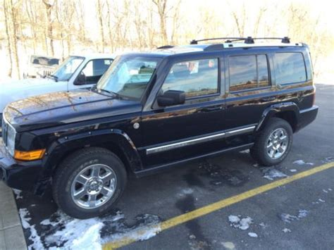 2008 Jeep Commander Tire Size Find Used 2008 Jeep Commander 4x4 Limited 5 7 Hemi