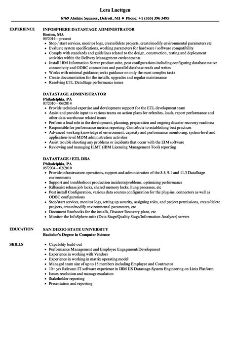 Datastage Developer Sle Resume by Generous Etl Datastage Developer Resume Ideas Resume Ideas Namanasa