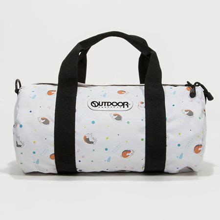 Caracter Mini Bag amiami character hobby shop natsume yuujinchou x outdoor products nyanko sensei drum