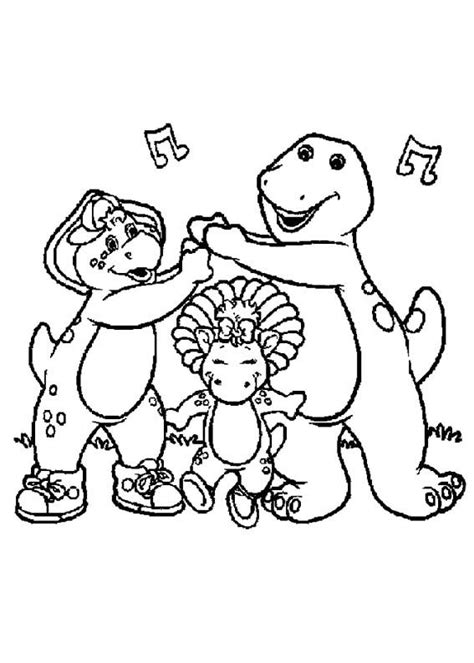 barney birthday coloring page 24 best barney coloring pages images on pinterest