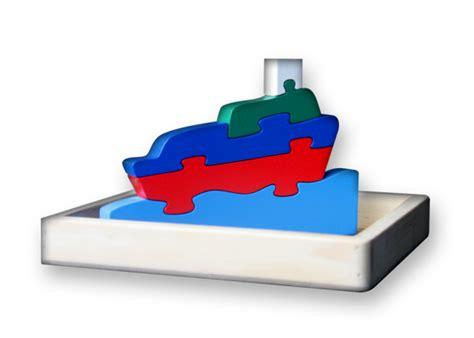 Puzzle Mancing by Puzzle Satuan 3d Perahu Mainan Kayu