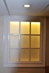 Led Bathroom Lighting Faux Basement Window Installation Nj Monk S Home