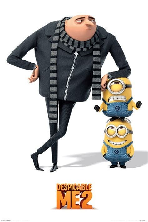 Kids Room Posters by Despicable Me 2 Gru And Minions Poster Sold At Europosters