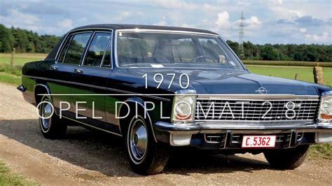opel diplomat 1970 opel diplomat 2 8 e automatic