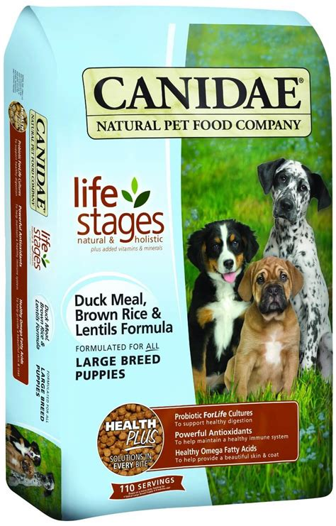 breed puppy food product review canidae all stages large breed puppy food