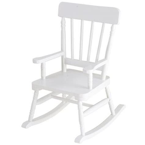 White Childs Rocking Chair by Children S Rocking Chairs