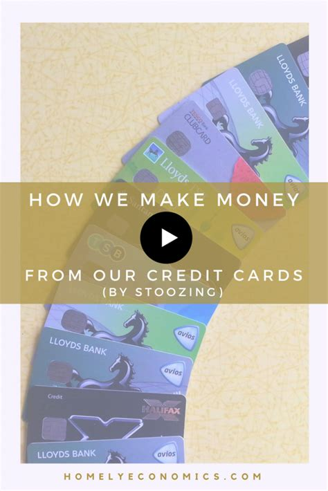 how to make money on credit cards how we make money from our credit cards by stoozing