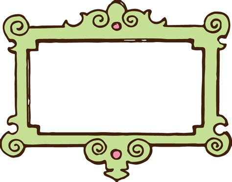 clipart frame free clip vintage frame oh so nifty vintage graphics