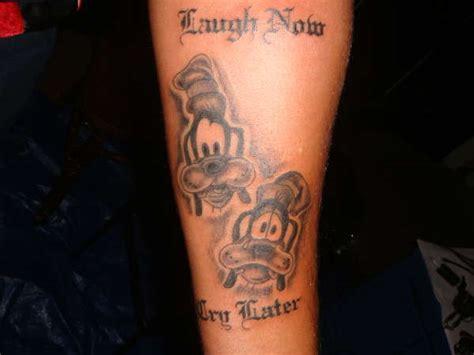 goofy tattoo goofy