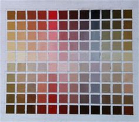 earthy color crossword zorn palette and color chart a westerberg