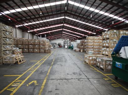 amber upgrades warehouse facility
