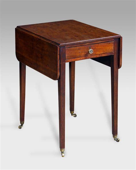 small antique pembroke table georgian pembroke table