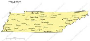 map of tennessee and carolina with cities tennessee outline map with capitals major cities
