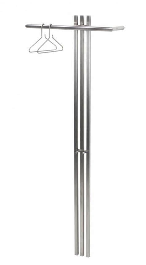 Kleiderhaken Design 269 by Design Garderobe Wandgarderobe Senza 5 In Edelstahl
