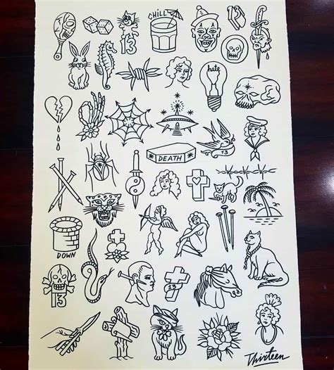 10 tattoo shops with friday the 13th flash sheet deals