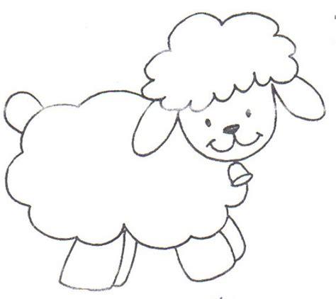 imagenes de ovejas faciles para dibujar oveja facil de dibujar imagui