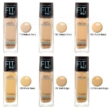 Harga Foundation review harga maybelline fit me foundation matte