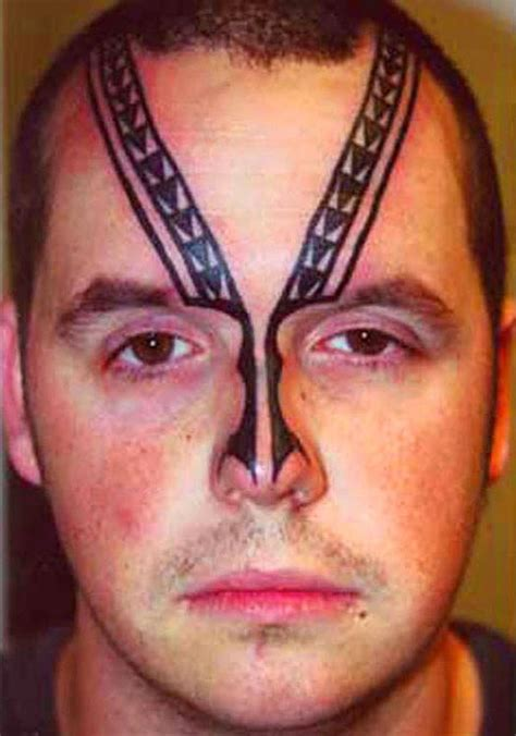 worst face tattoos permanent hurt 15 bad tattoos team jimmy joe