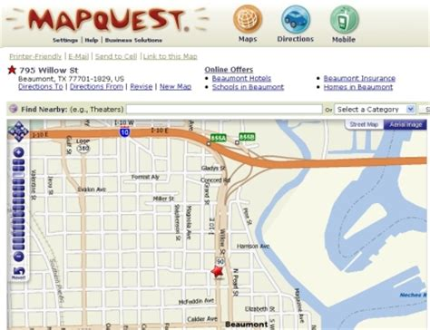 yahoo printable driving directions online mapping and driving directions