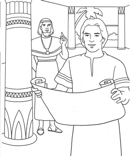 coloring pages of joseph in jail joseph joseph pinterest bible sunday school and