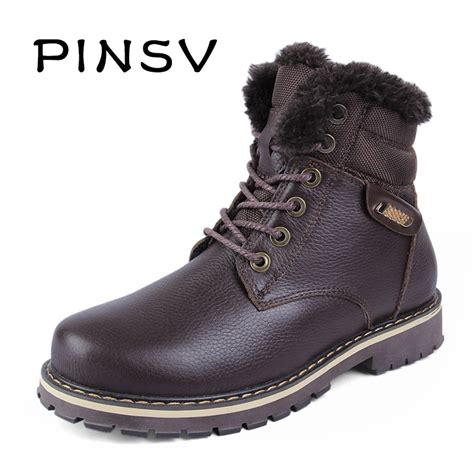 warmest boots size 38 50 warmest genuine leather snow boots hecrafted